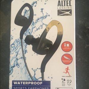 Altec Lansing Waterproof in ear Earphones